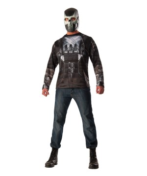 Civil War Crossbones Costume Top and Mask Set