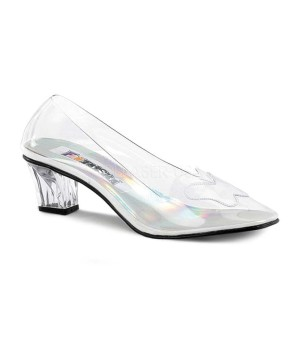Clear Crystal Women Pump Shoes