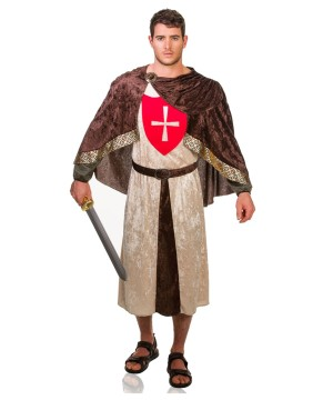 Crusader Men Medieval Costume