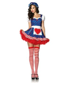 Darling Dollie Women Costume and Red Petticoat