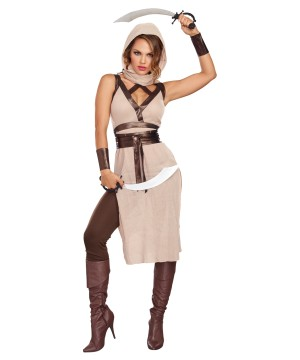 Desert Warrior Women Costume