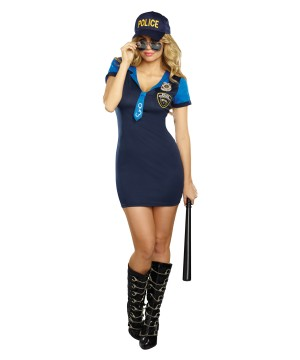 Dirty Detective Women Costume