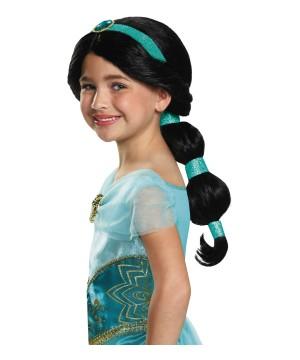 Disney Princess Jasmine Girls Wig
