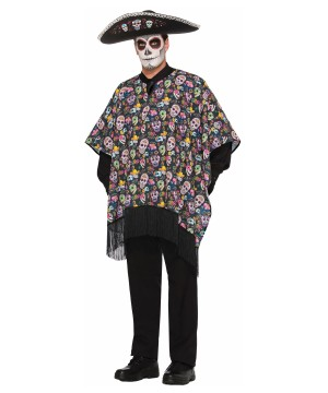 Day of the Dead Serape Men Costume