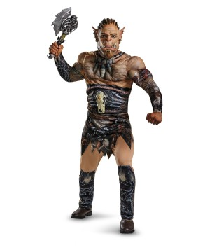 World of Warcraft Durotan Muscle Teen/adult Costume deluxe