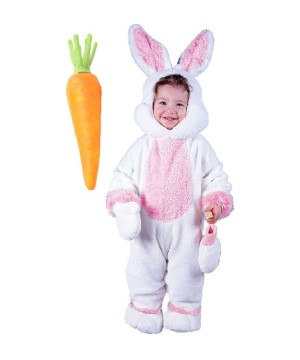 Easter Bunny Baby and Carrot Prop Costume Kit
