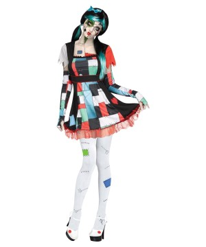 Edgy Rag Doll Women Costume