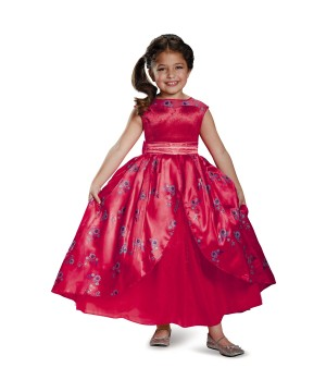 Elena of Avalor Ball Gown Disney Girl Costume deluxe