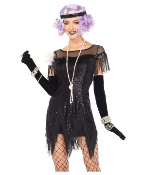 Flapper Foxtrot Flirt Women Costume