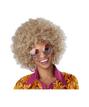 Foxy Lady Dirty Blonde Afro Wig