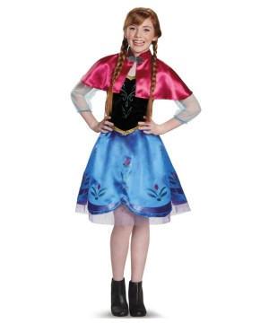 Frozen Anna Teen Disney Costume