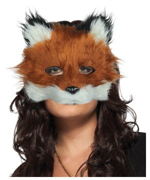 Furry Face Fox Mask