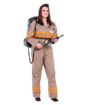 ghostbusters movie plus size women costume