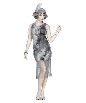 Ghostly Flapper Costume