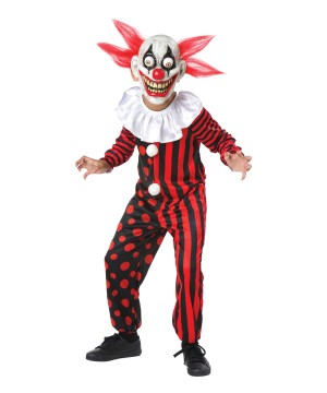 Googly Clown Boys Costume