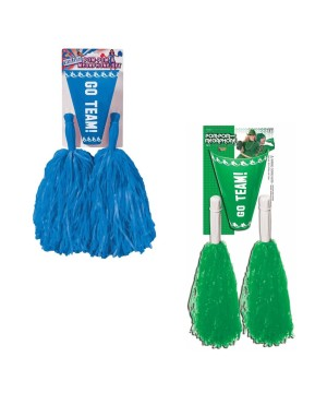 Green and Blue Cheerleader Accessory Sets