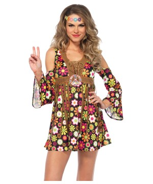 Hippie Starflower Women Costume