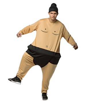 Hoopster Sumo Men Costume