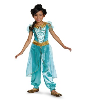 Jasmine Disney Girls Costume deluxe