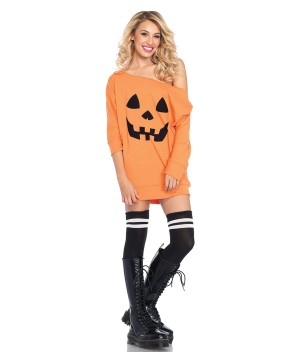 Pumpkin Jersey Dress Costume