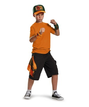 John Cena Costume Boys Kit