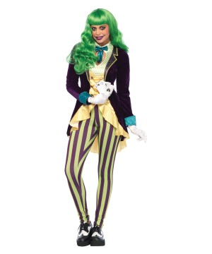Joker Wicked Trickster Women Costume