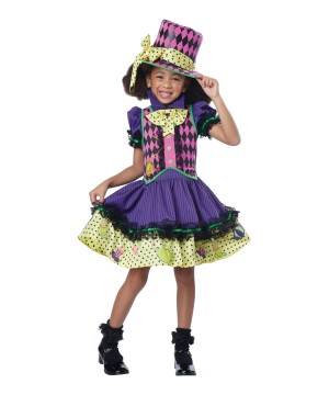 Mad Hatteress Girls Costume
