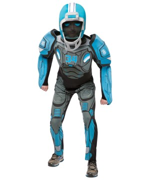 Mens Sports Robot Costume