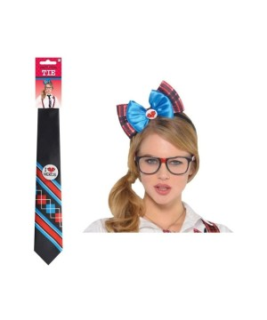 Nerd Woman Costume Accessory Kit