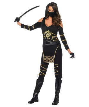 Ninja Stealth Women Costume