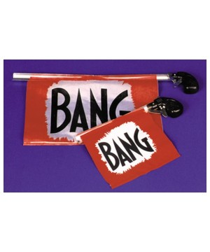 Novelty Bang Gun Prop