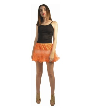 Orange Tutu Petticoat