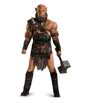 World of Warcraft Orgrim Teen/ Adult Muscle Costume deluxe