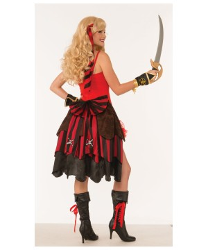 Womens Pirate Vest Costume