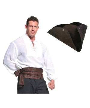 Pirate Man Shirt and Hat Kit