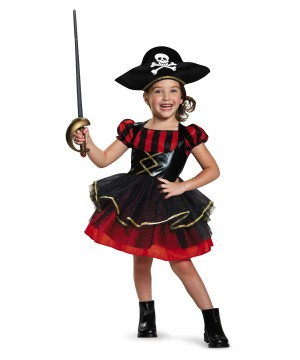 Girls Precocious Pirate Costume
