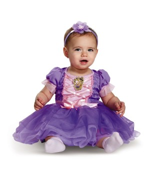 Girls Rapunzel deluxe Infant Costume