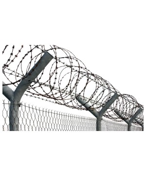 Razor Wire Decoration
