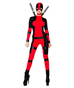 Rebellious Sexy Movie Character Ninja Women Costume