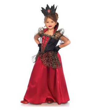 Red Queen Girls Costume deluxe