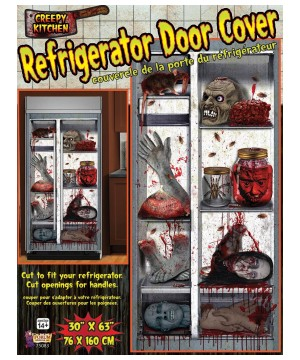 Creepy Kitchen Refrigerator Decor cover