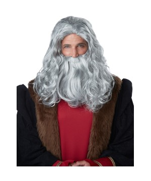 Renaissance Man Wig and Beard Set