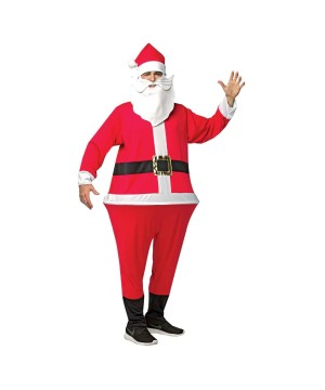 Santa Men Hoopster Costume