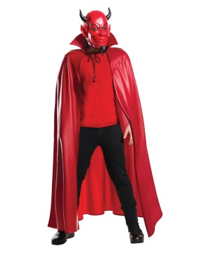 Scream Queens Mask and Cape Costume Set