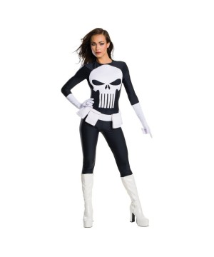 Secret Wishes Punisher Women Costume