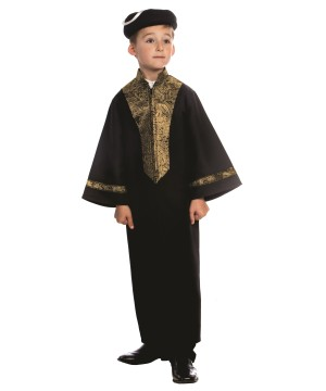 Sephardic Chacham Rabbi Boy Costume