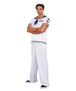 Ship Happens Sailor Men Costume