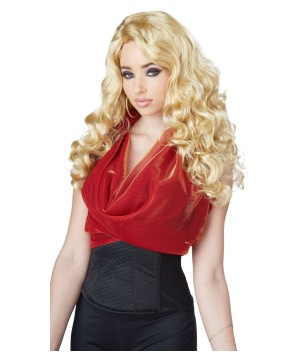 Shockwaves Plat Blonde Wig