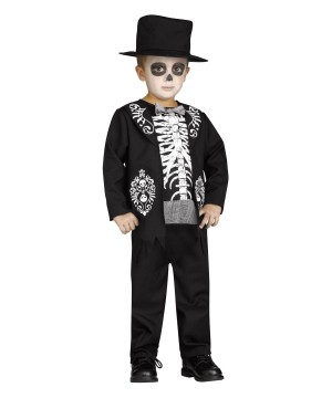 Skeleton King Toddler/boys Costume