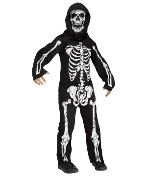 Skeleton Phantom Boys Costume